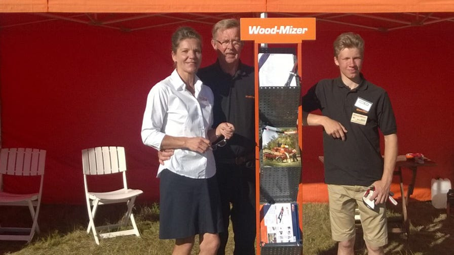 Blackbourn family is Wood-Mizer agents in Finland