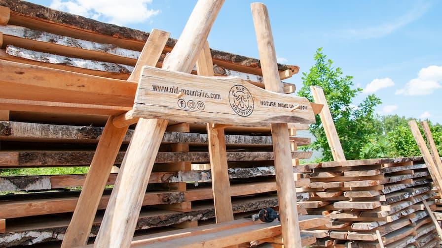 OLD Mountains milled wood seasoning
