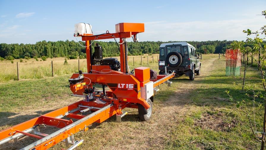 Wood_Mizer LT15CLASSIC Mobile in transportation